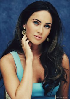 Megan Fox- I don't usually think she's very pretty, but this picture is an exception
