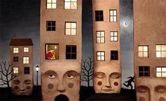 http://www.hypeness.com.br/2014/03/artista-da-vida-as-proprias-ilustracoes-com-esculturas-feitas-em-argila-2/