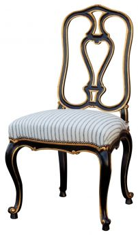 FLORENCE CHAIR  ref 012-3  L : 54 cm  P : 57 cm  H : 102 cm  HA : 48 cm  Necessary fabric : 0.7 m