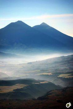 Morning view Guatemala