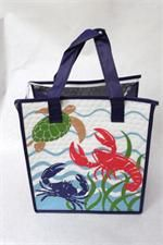 Tropical Paper Garden Hot & Cold Reusable Bag Crusty