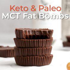 High Carb Snacks, Keto Snacks, Keto Desserts, Keto Bombs, Easy Fat Bombs Keto, Avocado Fat, Dairy Free Keto Recipes, Coconut Fat Bombs, Chocolate Fat Bombs