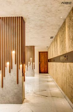 New wall design hotel lobby interiors 53 Ideas Design Hotel, Design Entrée, Flur Design, Plafond Design, Modern Design, House Design, Design Ideas, Modern Decor, Modern Wall