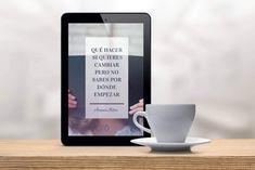"""Descargar EBook """"qué hacer si quieres cambiar pero no sabes por donde empezar"""" - Coaching para personas inquietas Coaching Personal, Life Motivation, Psychology, Therapy, Mindfulness, Tips, Shelf Ideas, Bedroom, Motivational"""