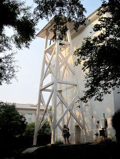 Chapel Bell Tower on North Campus at UGA.   Students and fans ring the bell to signify a big win on the field or a personal win in their own lives.