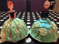 アナと雪の女王 戴冠式のドームケーキ