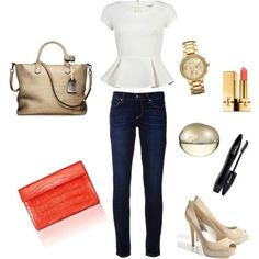 peplum outfit | peplum outfit. My style