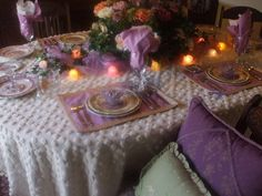 Nancy's Daily Dish: Bejeweled Butterflies ~A Spring Tablescape