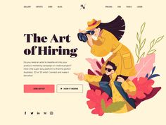 The article tells what is hero image, why it's important in web design and how to make it work for your goals. Check the types of images and a big pack of web design examples. Website Design Layout, Website Design Inspiration, Web Layout, Graphic Design Inspiration, Layout Design, News Web Design, Web Design Trends, Ui Ux Design, Page Design