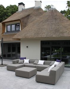 #Buitenmeubelen # loungemeubelen #all weather outdoor sofa