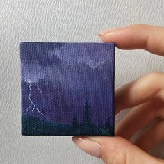 Painting Canvas Ideas For Beginners Awesome Art Ideas - Mini canvas art Small Canvas Paintings, Small Canvas Art, Mini Canvas Art, Small Paintings, Diy Canvas, Canvas Ideas, Painting Canvas, Watercolor Inspiration, Acrylic Artwork
