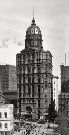 The New York World Building was a skyscraper in New York City designed by early skyscraper specialist George Browne Post and built in 1890 to house the now-defunct newspaper, The New York World. It was razed in 1955.