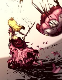ZELDA and PRINCESS PEACH Get Violent in This Fan Art - News - GameTyrant