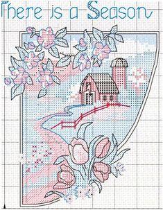Схема вышивки Четыре сезона (Dimensions) 4 из 4