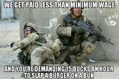 Our up-to-date Army pay chart lets you know how much active duty enlisted and officer soldiers earn in base pay. Base pay accounts for only part of a soldier's total income. Military Jokes, Military Life, Army Humor, Army Life, Military Service, Military Art, Army Jokes, Police Humor, Military Photos