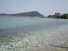 crystal clear waters - Thassos #Macedonia in northern #Greece - #macedonia2014