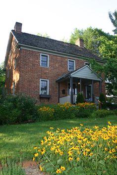 Zevely House. Oldest house in Winston-Salem, built 1815.