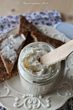 crema spalmabile alle noci macadamia e formaggio di capra - via pensieri e pasticci blog