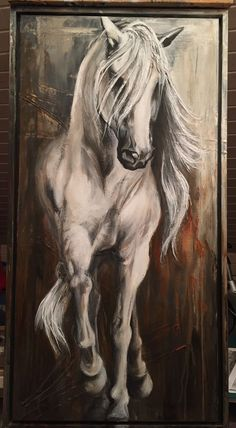Horse Drawings, Animal Drawings, Art Drawings, Animal Illustrations, Manga Illustration, Character Illustration, Digital Illustration, Horse Pictures, Pictures To Paint