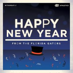 Happy New Year! #ItsGreatUF - floridagators's photo on Instagram