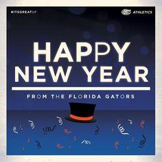 Happy New Year! #ItsGreatUF - floridagators's photo on Instagram