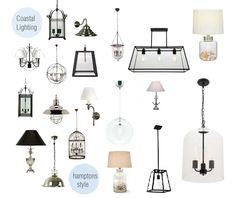 Hamptons style lighting - Our Hamptons Home: The Hamptons Style