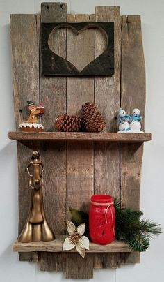 Check Out Another Cool Shelf Just Made By Redesign Out Of 100% Reclaimed Pallet Wood To Bring A Nice Rustic Look To Any Room IN Your House. Have a Great Day And Feel Free To Share And Let Us Know What You Think!