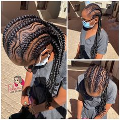 Stitch Braids, Dreadlocks, Hair Styles, Hats, Beauty, Fashion, Hair Plait Styles, Moda, Hat