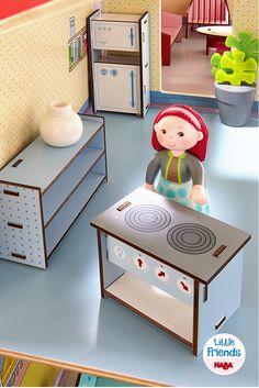 Little Friends – Puppenhaus-Möbel Küche (Artikelnummer 300508)
