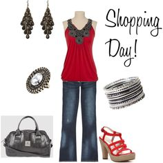 Out and About, created by danielle-spakes on Polyvore