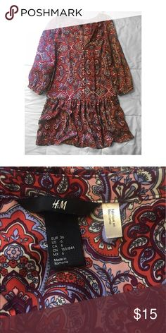 H&M casual tunic Good condition with pockets! H&M Tops Tunics