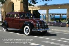An immaculate 1934 Chrysler Airflow at the Napier art deco weekend Photo: Matthew Wright Chrysler Airflow, Heroes Book, Art Deco Buildings, Time Art, Hawks, Wonderful Places, Book 1, Countryside, Wheels