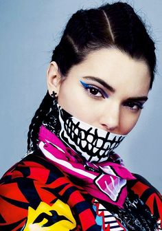 "Kendall Jenner in ""Kendall's Time"" for Teen Vogue September 2014, ph. by Emma Summerton."