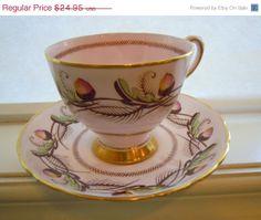 30 Off Sale Tuscan Teacup Vintage Fine English by TallulahsVintage, $17.47