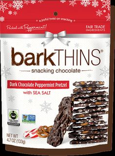 barkTHINS | snacking chocolate - this looks the MOST delicious! And! SNOWFLAKES!!! I probably have to wait for Christmastime for this, don't I? Why? WHY?!?!?!?