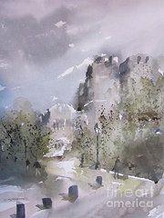 Featured Art - West Point Thayer Road  by Sandra Strohschein