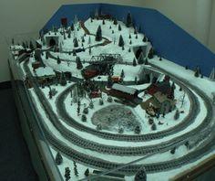 Trains Ideas for our o scale christmas garden