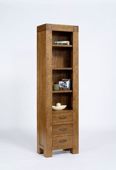 santana rustic oak slim bookcase aston solid oak wall mirror