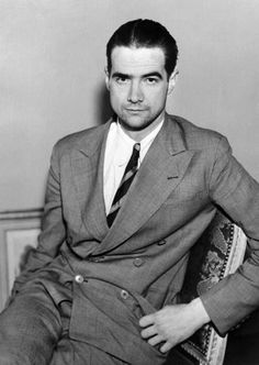 Howard Hughes and the louche lines of the double-breasted suit.