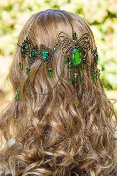 This hair band  would look good on the fairy's so hey look more like part of nature.