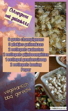 Lekker en leuk!: Champignons met geitenkaas (vegetarisch)