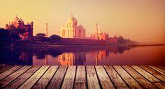 Travel on India // Trip on India // Lune de miel en Inde, vue sur le Taj Mahal Agra, Olympia, Le Taj Mahal, Cheap Flights To India, Indiana, India Holidays, Holidays 2017, India Tour, Destination Voyage