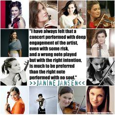 Dutch violinist, Janine Jansen