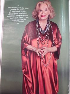 gena rowlands styling benjamin galopin photo zoe cassavettes for citizen k with a caftan soie de lina audi pour liwan