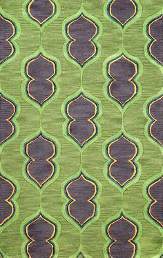 Rugs USA Satara HAC25 Green Rug