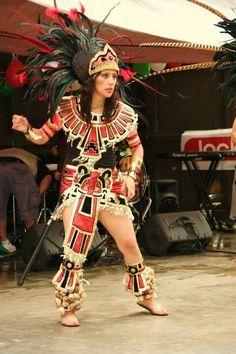 Miztli Aztec Dancer