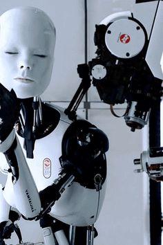 #bjork #gif - All Is Full Of Love - Music Video (Cyborg) Source: http://instinctualization.tumblr.com/post/46607113589
