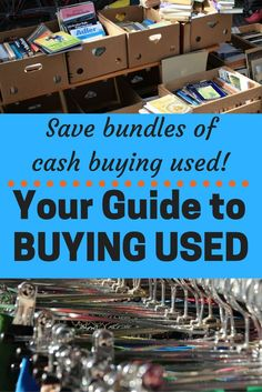 Your Guide to Buying Used Buying used can save a ton of money. Check out what to look for when buying items used.