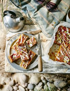Rose polenta cake - Gluten free and a perfect addition to your afternoon tea.