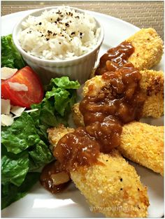 Your family will love these coconut chicken tenders & making them is so easy, when you follow the step by step instructions on the Appetites App!